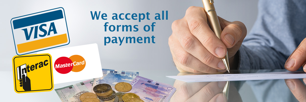 Payment Options for Warkentin