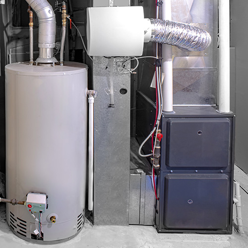 Furnace with Humidifier