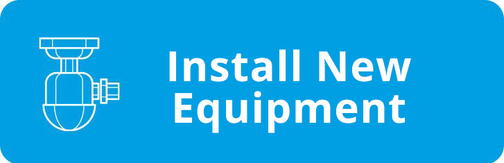 Icon & Text for Install New Equipment